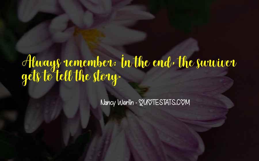 Nancy Werlin Quotes #815378