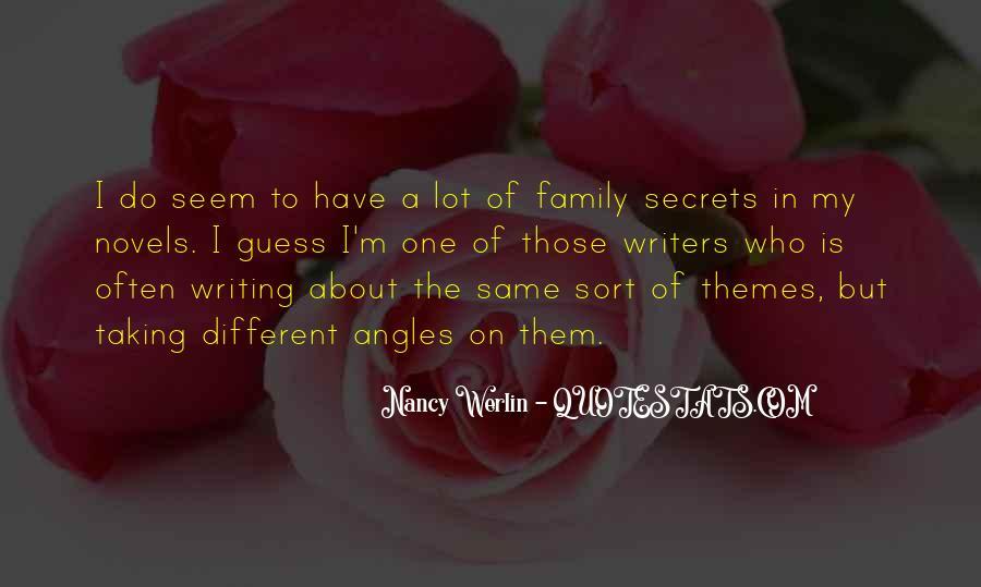 Nancy Werlin Quotes #954332