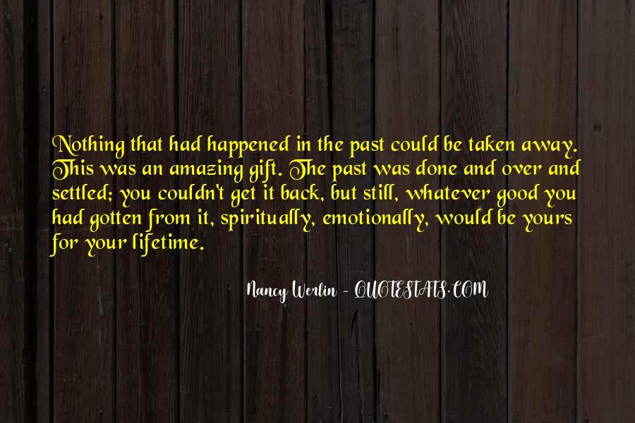 Nancy Werlin Quotes #998250