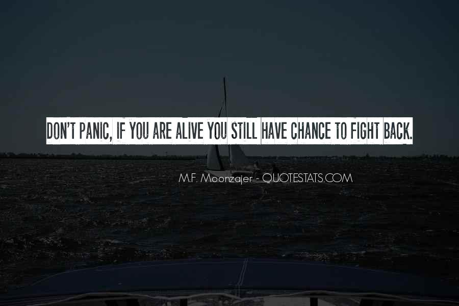 Quotes About Fight Back #222245