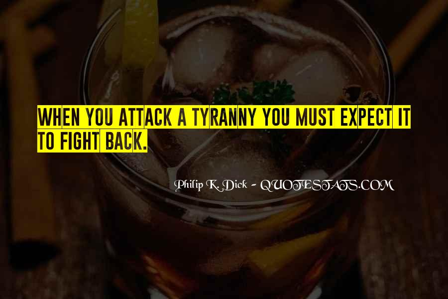 Quotes About Fight Back #22958