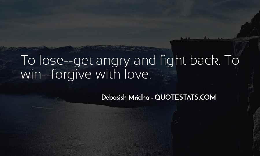 Quotes About Fight Back #246053