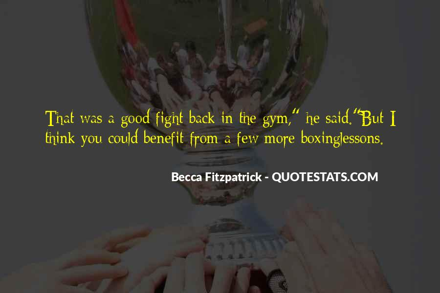 Quotes About Fight Back #306028