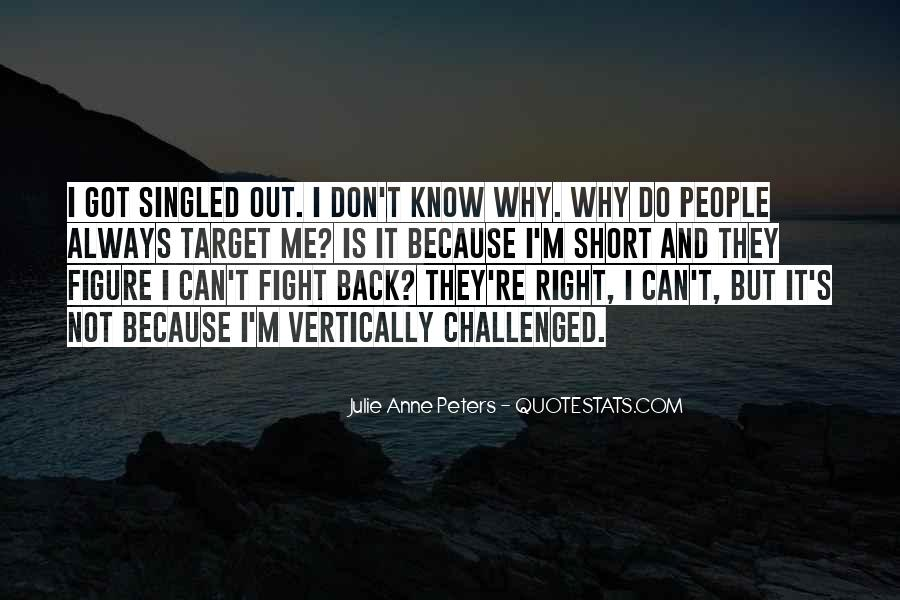 Quotes About Fight Back #359921