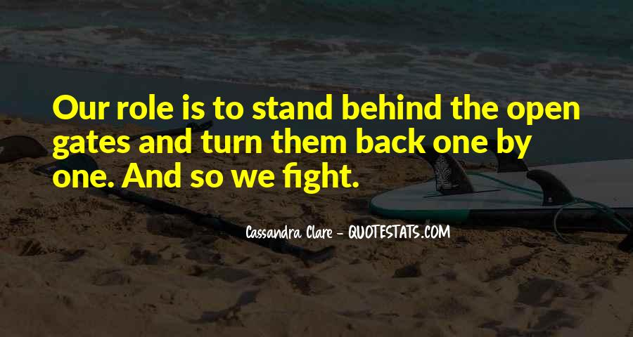 Quotes About Fight Back #53064