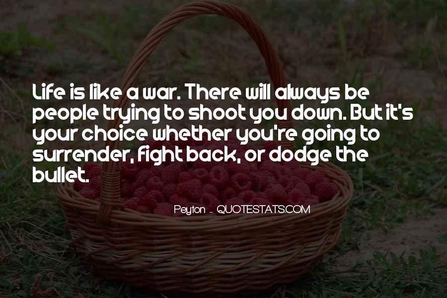 Quotes About Fight Back #65673