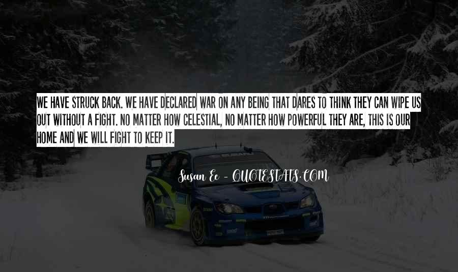 Quotes About Fight Back #70085