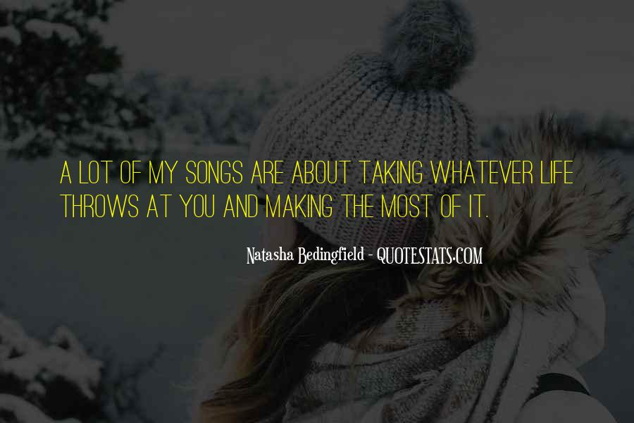 Natasha Bedingfield Quotes #137795