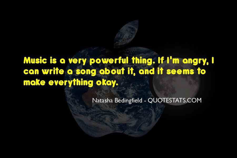 Natasha Bedingfield Quotes #1728289