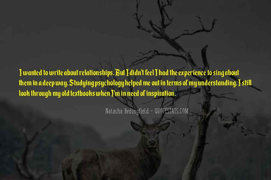 Natasha Bedingfield Quotes #34469