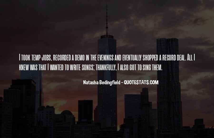 Natasha Bedingfield Quotes #763196