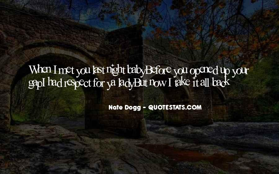 Nate Dogg Quotes #1209720