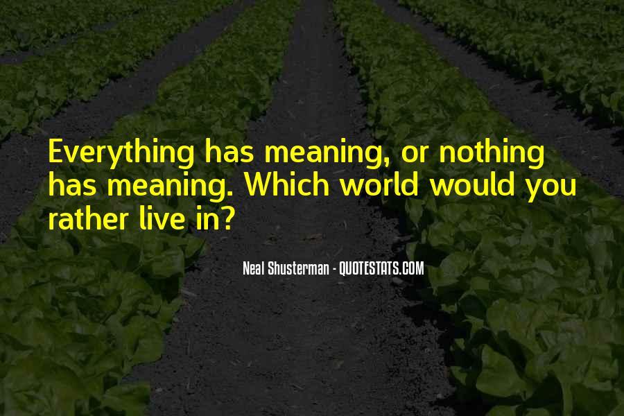 Neal Shusterman Quotes #114391