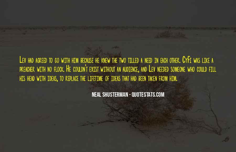 Neal Shusterman Quotes #124881