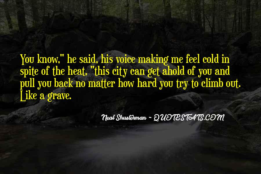 Neal Shusterman Quotes #157375