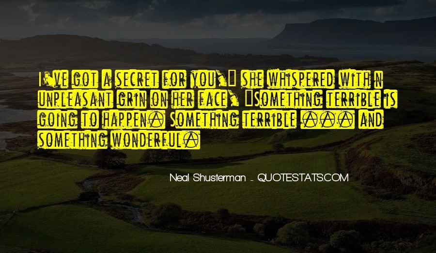 Neal Shusterman Quotes #196441
