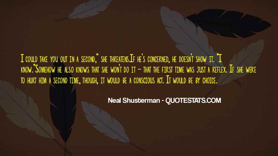 Neal Shusterman Quotes #310141