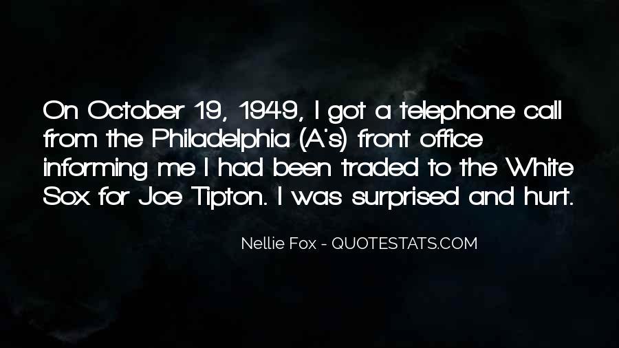 Nellie Fox Quotes #1274244