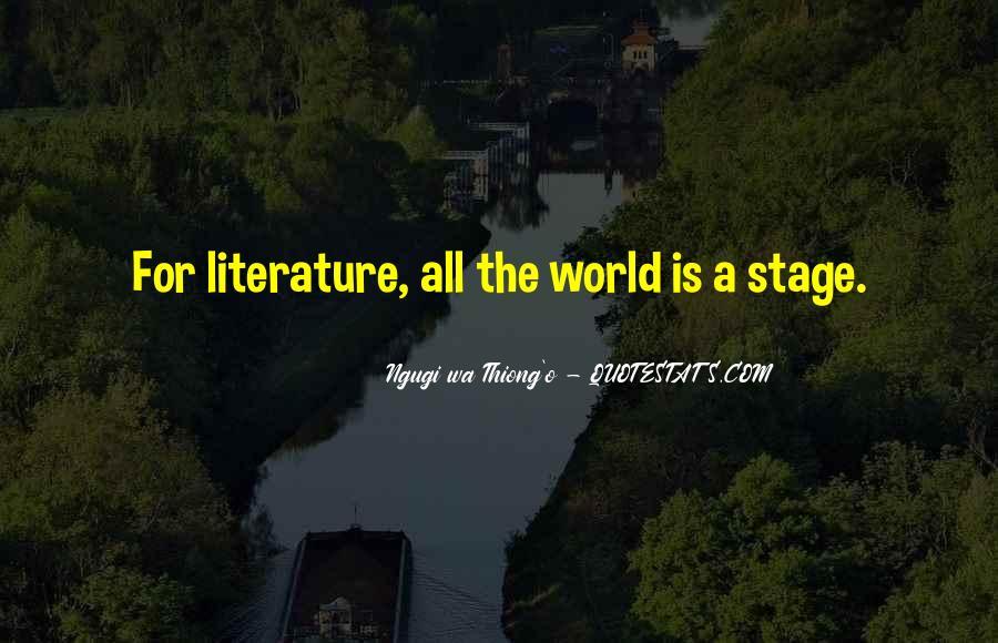 Ngugi Wa Thiong'o Quotes #523341