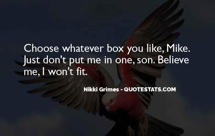 Nikki Grimes Quotes #1161181