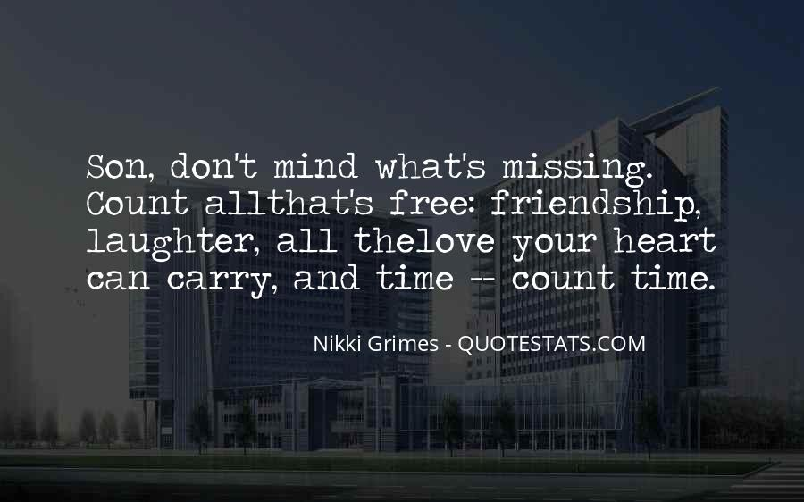 Nikki Grimes Quotes #2823