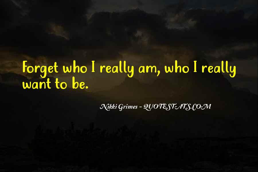 Nikki Grimes Quotes #742190
