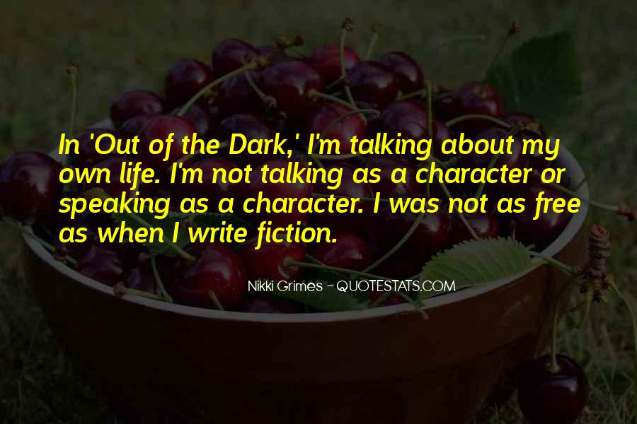 Nikki Grimes Quotes #868514