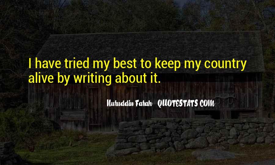 Nuruddin Farah Quotes #1516528