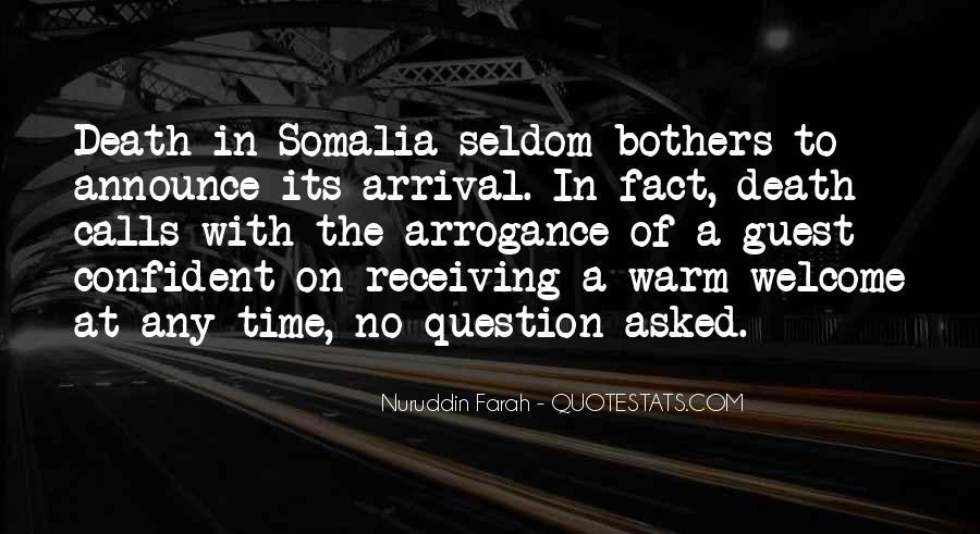 Nuruddin Farah Quotes #276985