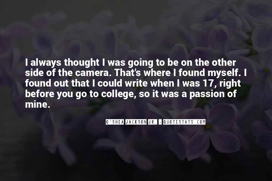 O'shea Quotes #372890