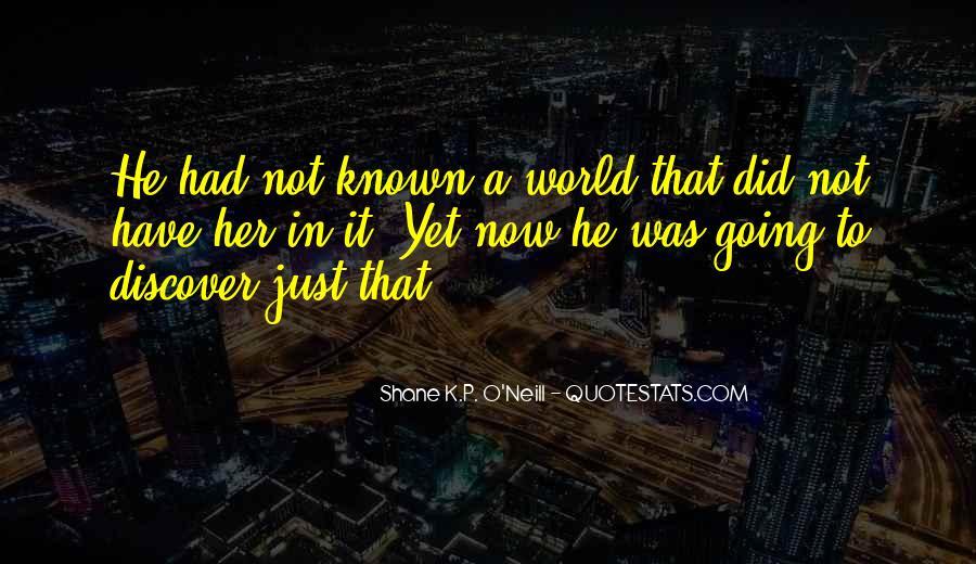 O'shea Quotes #7107