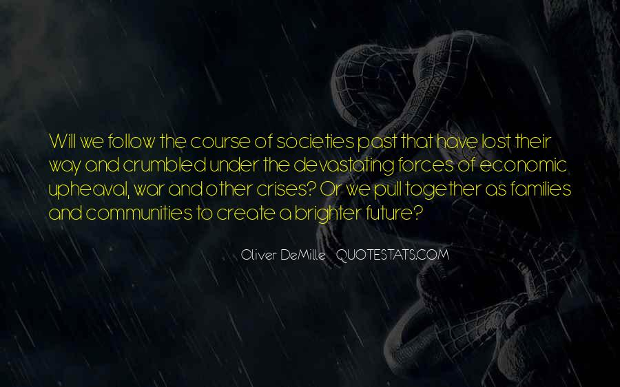 Oliver Demille Quotes #1139634