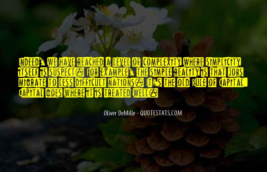 Oliver Demille Quotes #1316440