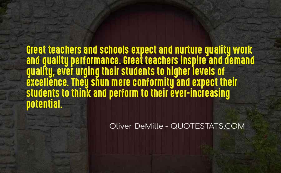 Oliver Demille Quotes #1363978