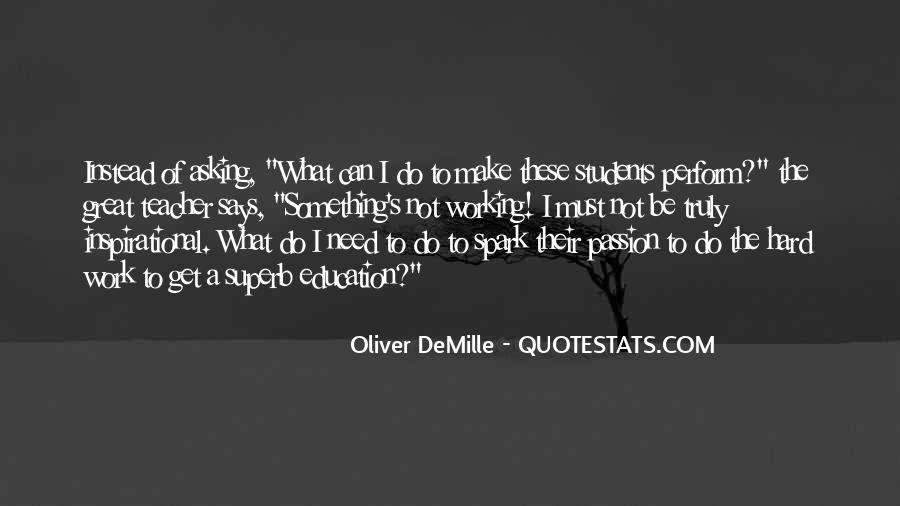 Oliver Demille Quotes #1396507