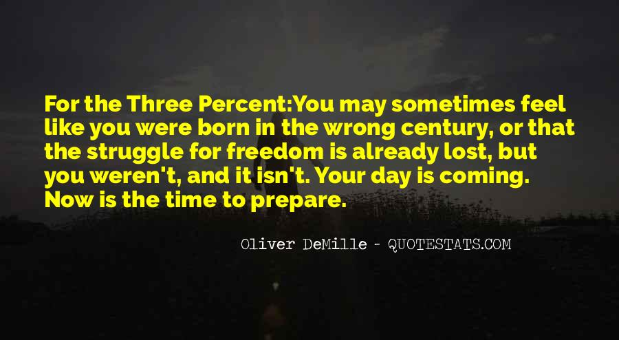 Oliver Demille Quotes #1717194