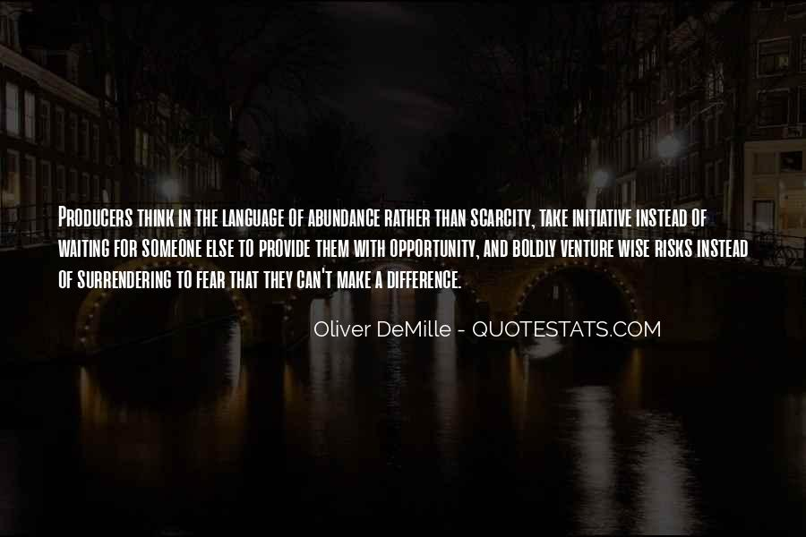 Oliver Demille Quotes #367891