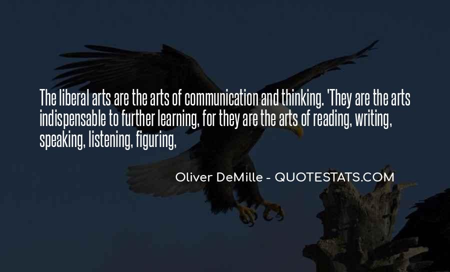 Oliver Demille Quotes #379223
