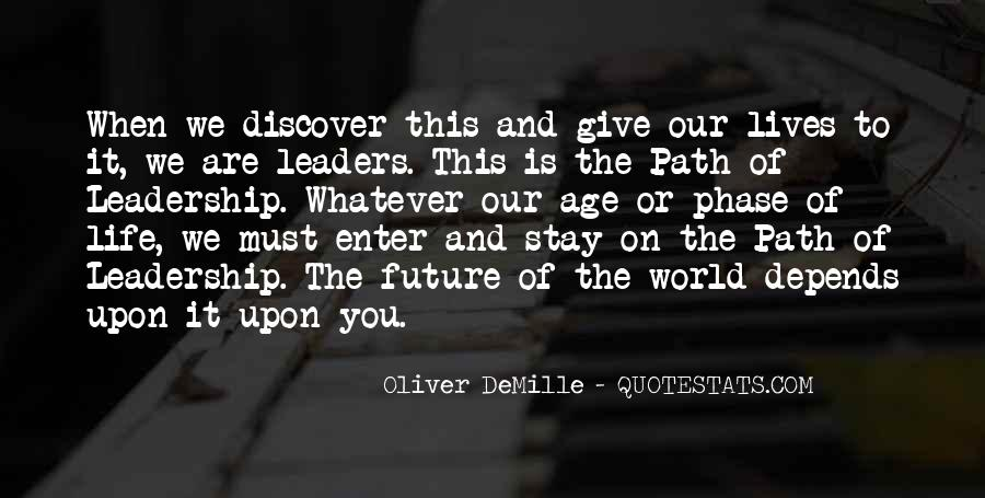 Oliver Demille Quotes #513137