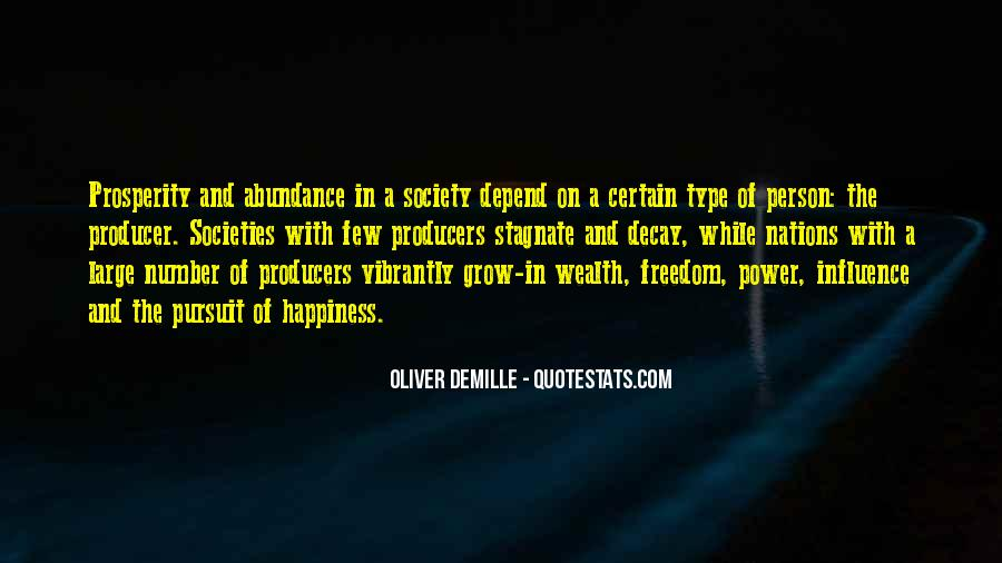 Oliver Demille Quotes #685214