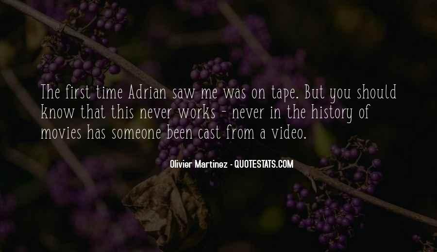 Olivier Martinez Quotes #1622708