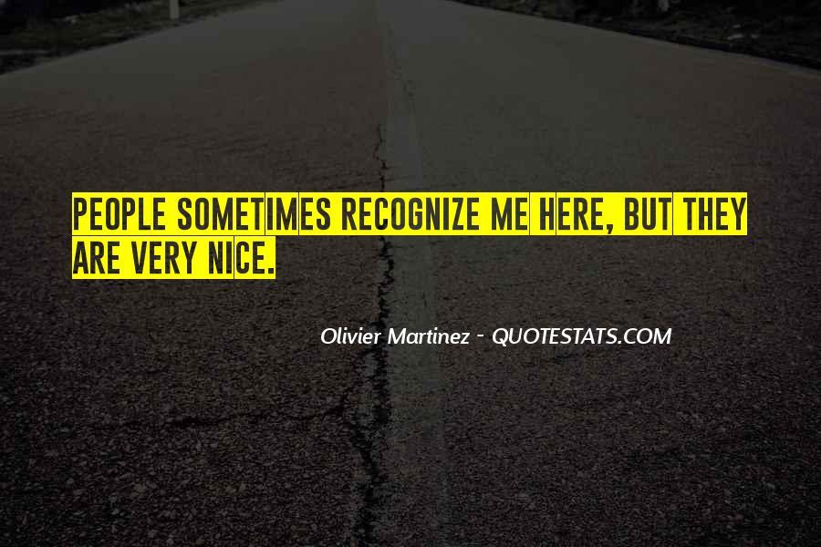 Olivier Martinez Quotes #266875