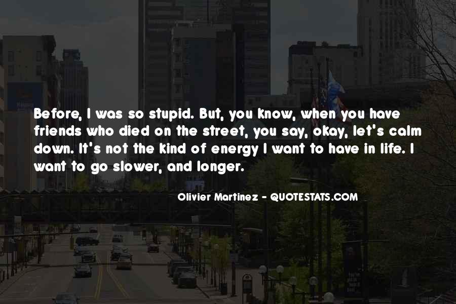 Olivier Martinez Quotes #85156
