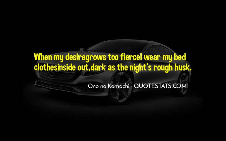 Ono No Komachi Quotes #1255944