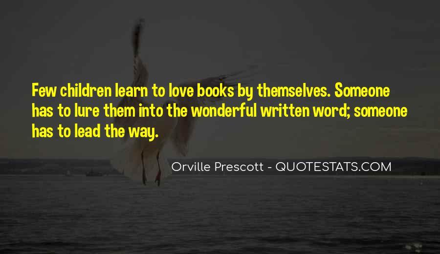 Orville Prescott Quotes #1749924