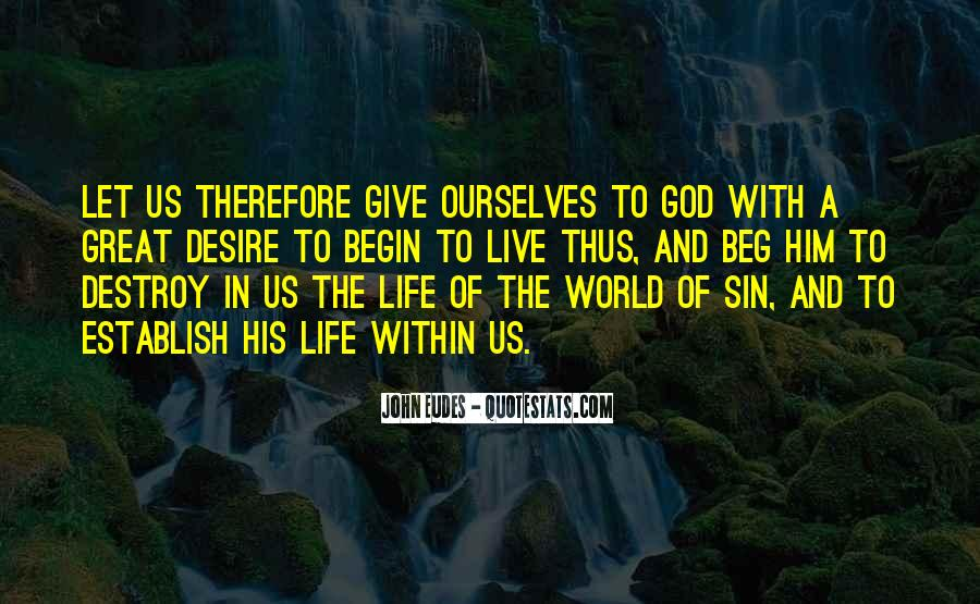 Quotes About Giving My Life To God #101115