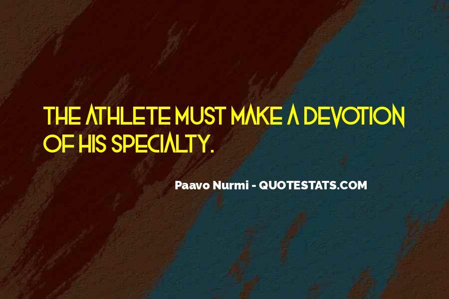 Paavo Nurmi Quotes #226849