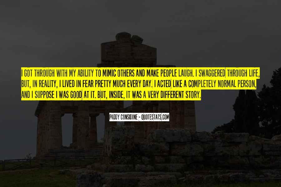 Paddy Considine Quotes #1543006