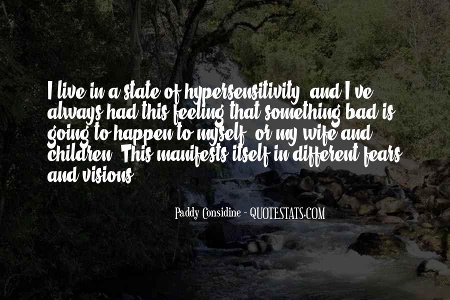 Paddy Considine Quotes #244543