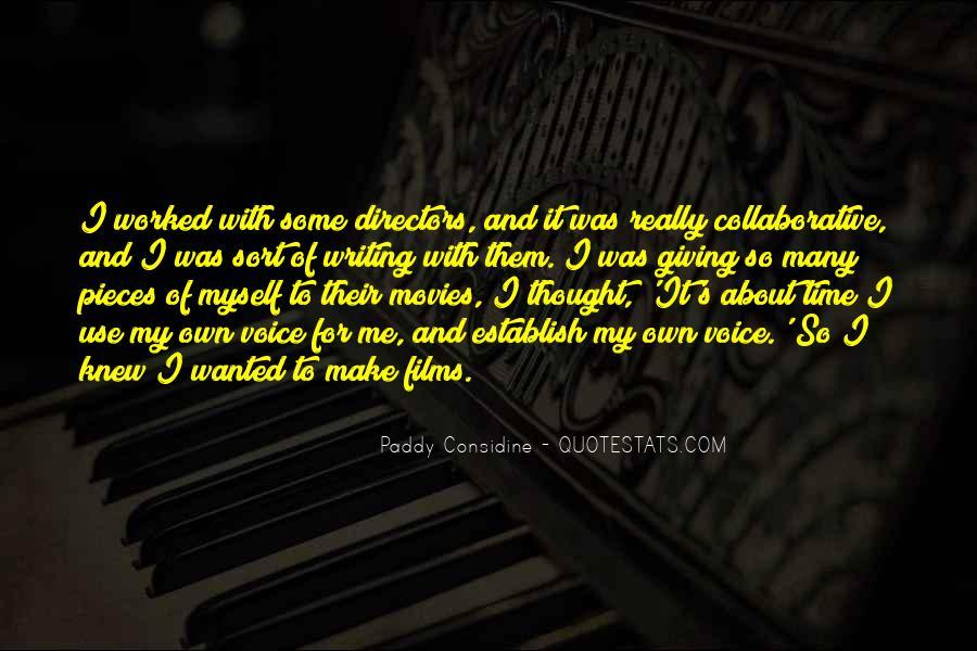 Paddy Considine Quotes #793238